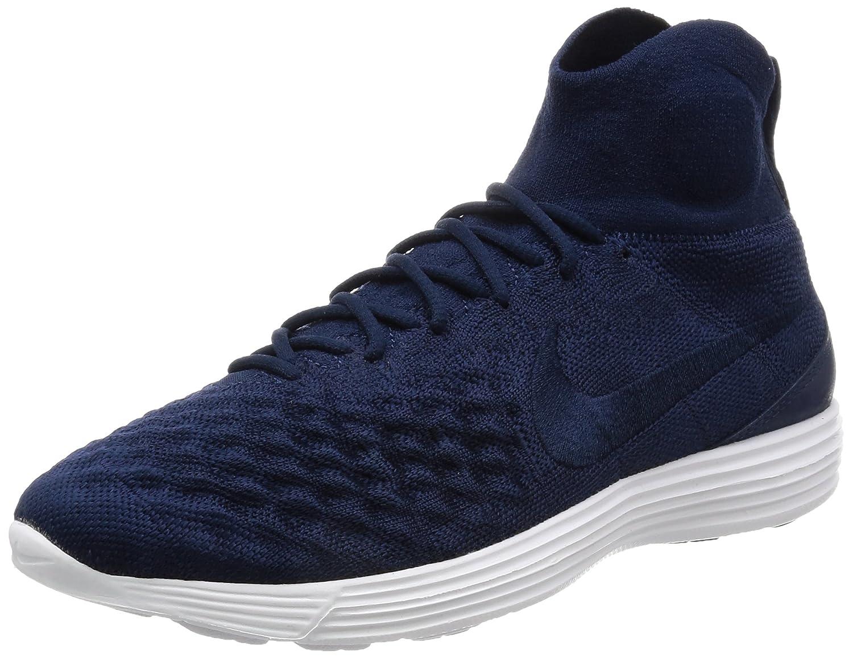 Nike Lunar Magista II Flyknit Schuhe Herren Sneaker Turnschuhe Blau 852614 401  44.5 EU|Blau