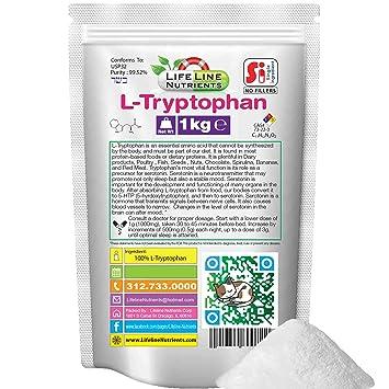 Amazon.com: L-Triptófano en polvo (aminoácido) – El envío ...