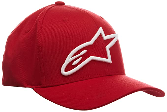 Alpha LOGO ASTAR CURVED BRIM HAT Cappello Uomo  Alpinestars  Amazon.it   Abbigliamento 726d342389db