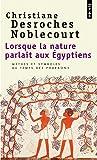 Lorsque la nature parlait aux Egyptiens