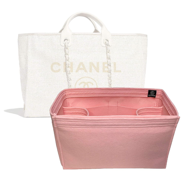 2ace9d53 Amazon.com: Zoomoni Chanel Deauville Tote (Large) Purse Organizer ...