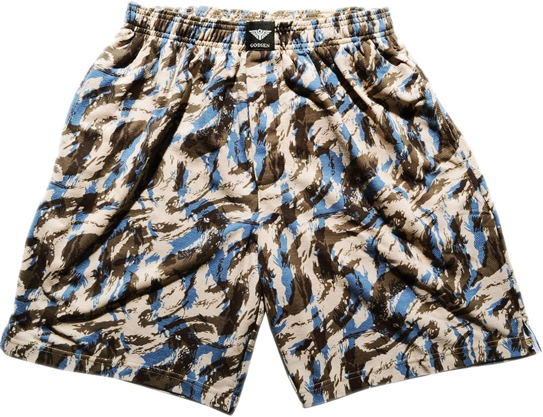 Godsen Men's 2 Pack Knit Cotton Shorts Boardshort Lounge Sleep Pajamas Bottoms