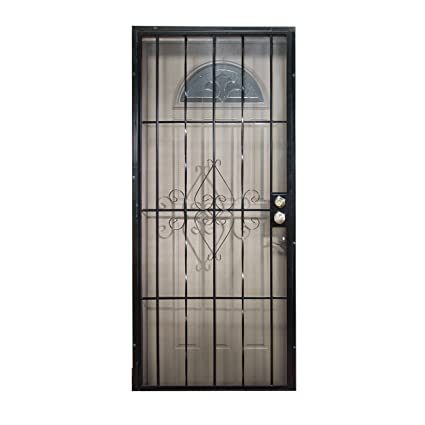 Leslie Locke 50730X80 Laguna 30 Inch By 80 Inch Security Storm Door
