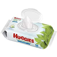 Baby Wipes, Huggies Natural Care Refreshing, SCENTED, Hypoallergenic, 1 Flip-Top Pack, 56 Count