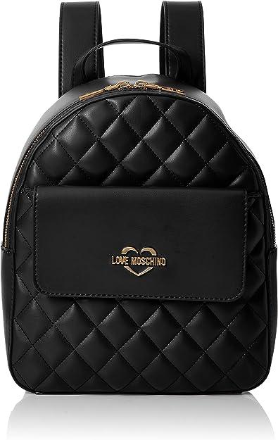 Noir Love Moschino Borsa Quilted Nappa Pu Nero Black B x H T Sacs port/és dos femme 10x29x26 cm