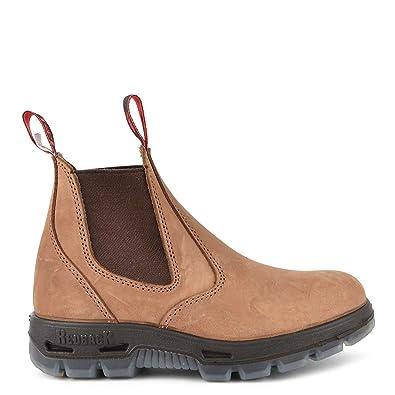 Marron En 45 Cuir Boots Chaussures Ubch Femme Redback Crazy Horse twzn71YqH