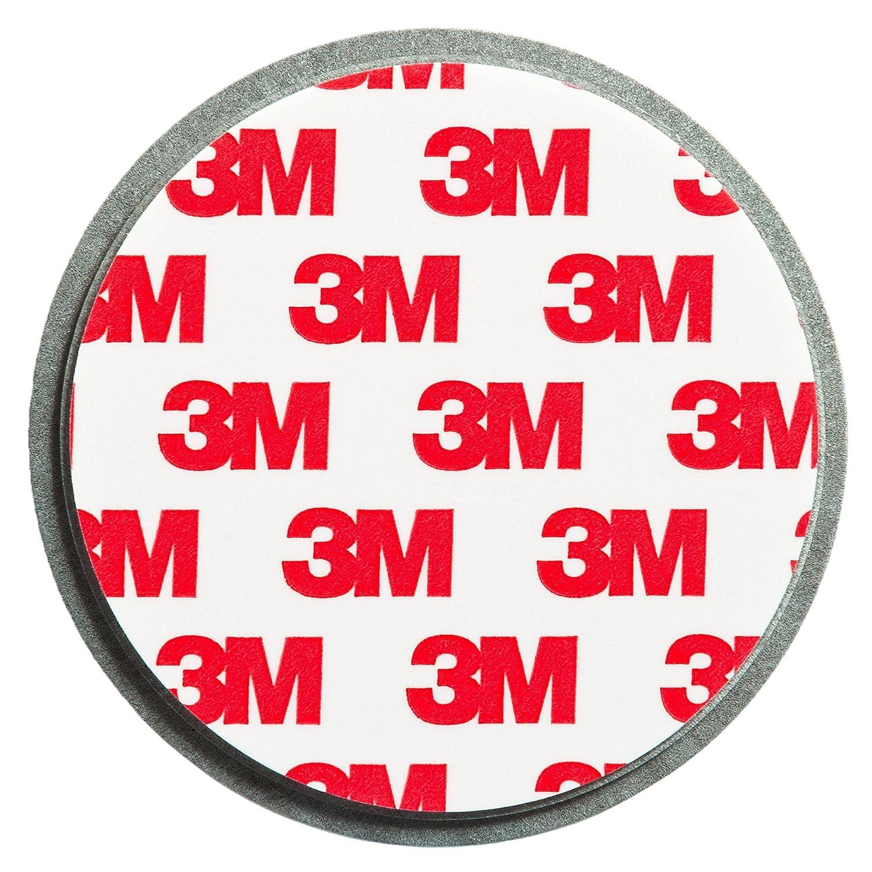 ECENCE Soporte magnético para Detector de Humo - 1 Unidades Soporte magnético Adhesivo para detectores de Humo Ø 70mm - Base sin taladros para ...