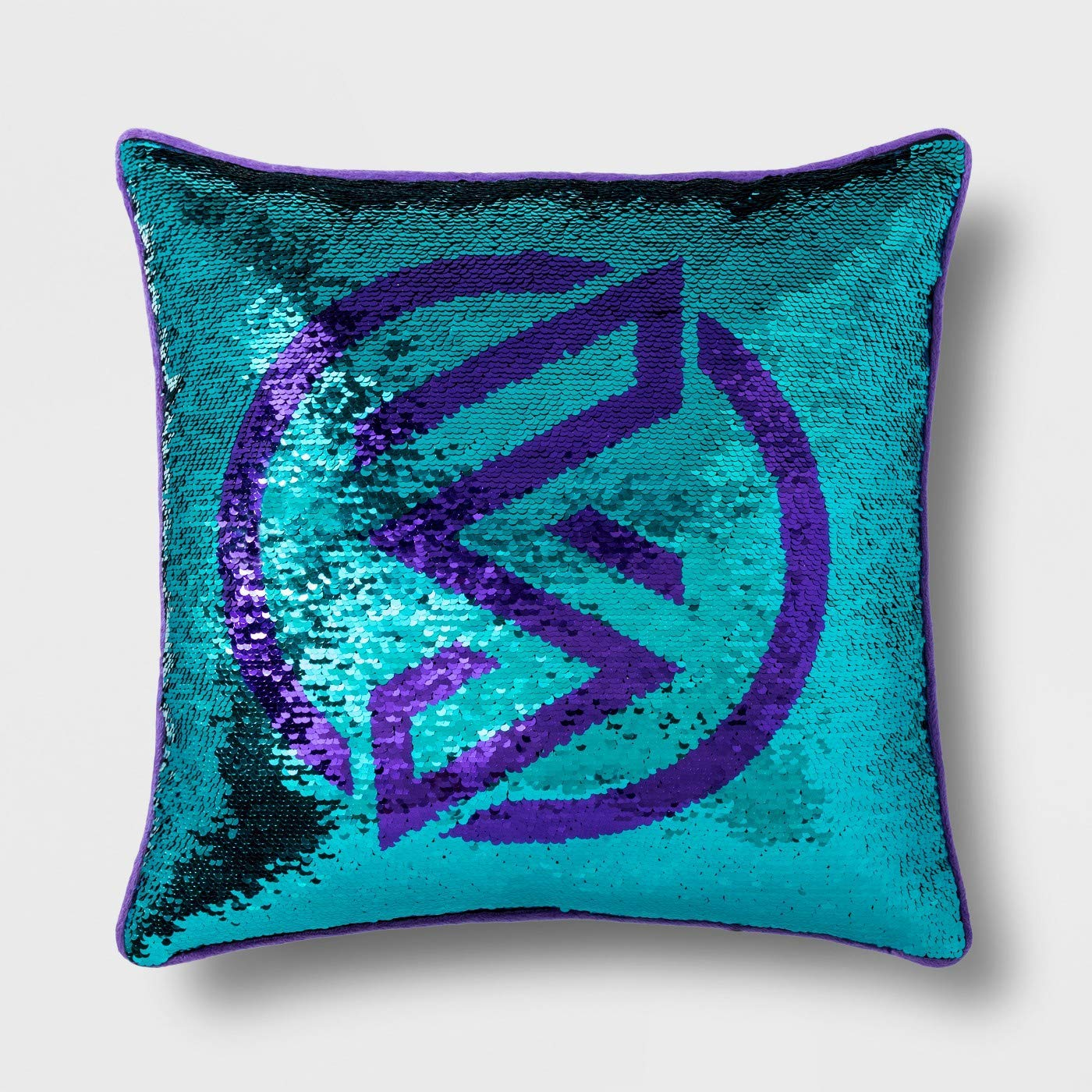 Marvel Rising Secret Warriors Reversible Sequin Decorative Pillow - Kids Bedding, Measures 16 inch x 16 inch - (Official Marvel Product)
