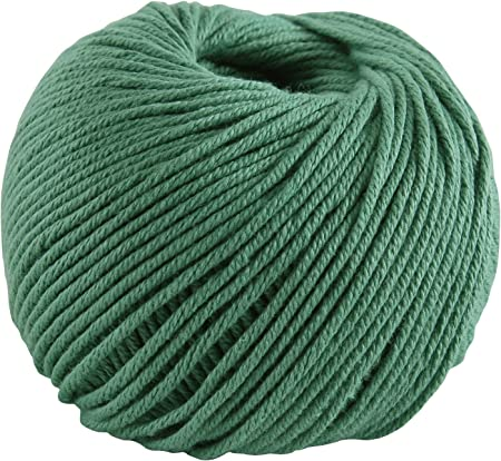 DMC Natura Medio ovillo de lana, 100% algodón, color 138, 50 g ...