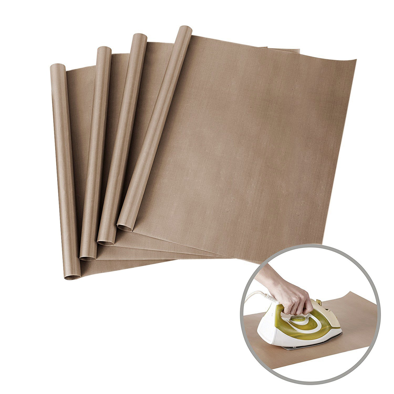 4 Pack PTFE Teflon Sheets for Heat Press