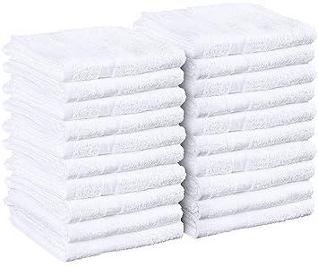 hand towel. Cotton Salon Towels  Gym Towel Hand 24 Pack White Amazon Com