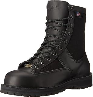 e00789f4618 Amazon.com: Danner Lace-In Boot Zipper, Black: Shoes