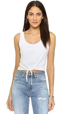 950396575 Amazon.com: Splendid Women's Short Front Tie Crop Top: Clothing