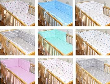 Nestchen 360/° f/ür das Babybett 60x120 cm Bettumrandung Kopfschutz