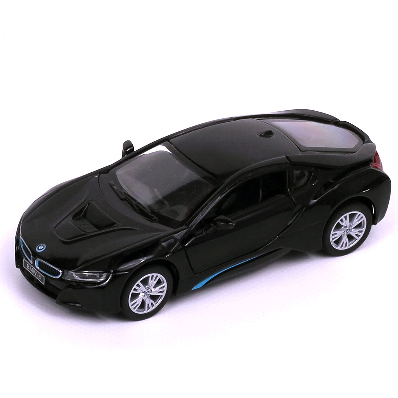 BMW Rastar - Coche Modelo Diecast I8 Coupé, Construido a Partir de 2013, Color Negro, Escala 1/43