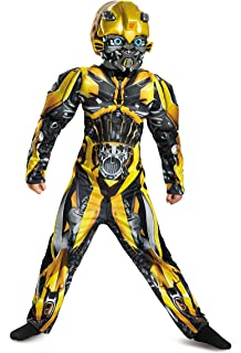 Amazon disguise mens hasbro transformers age of extinction disguise bumblebee movie classic muscle costume yellow medium 7 8 solutioingenieria Choice Image