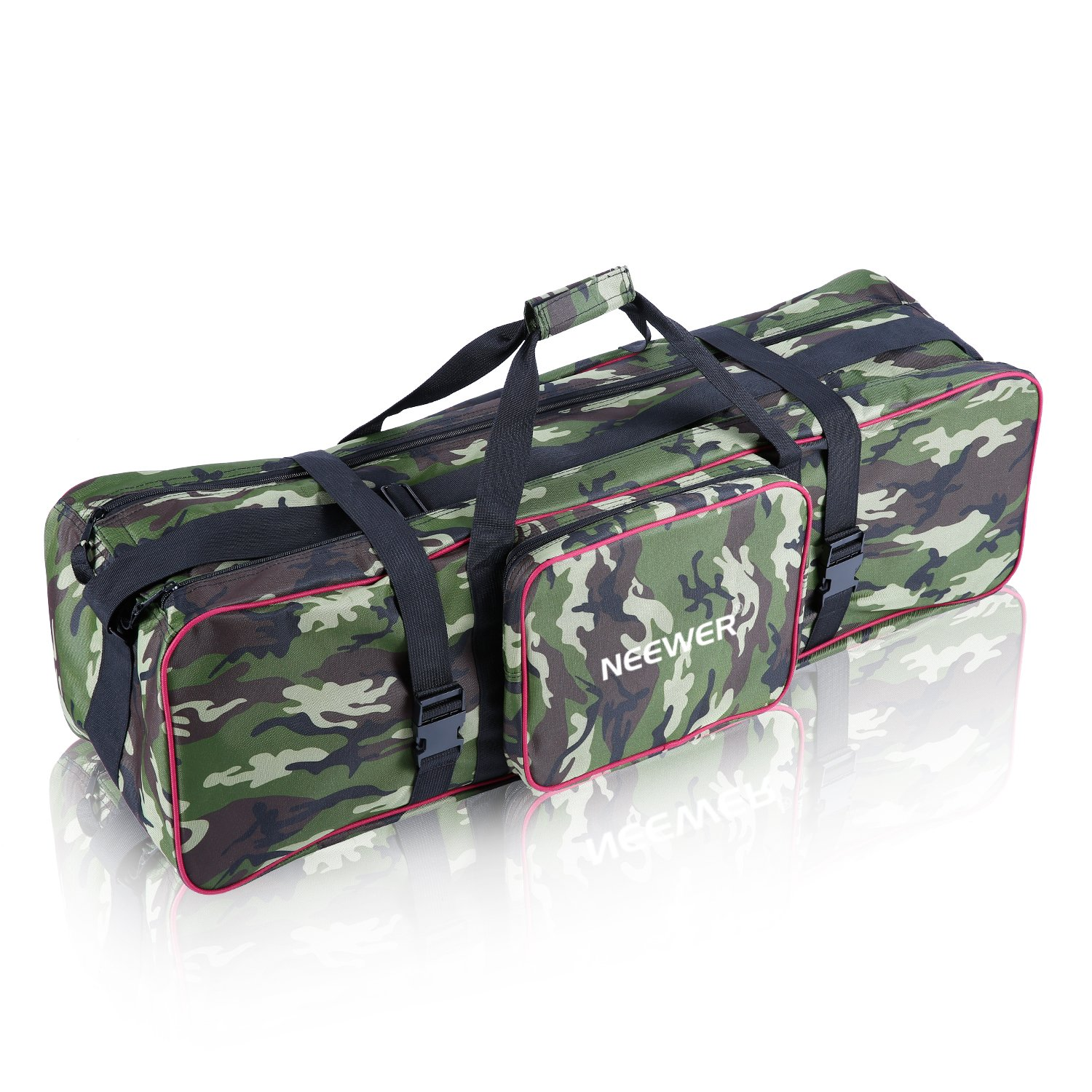Neewer® 35''x10''x10''/90x 25 x 25 cm Photo Studio Equipment Large Carrying Bag with Strap for Tripod Light Stand and Photography Lighting Kit(Camouflage) by Neewer