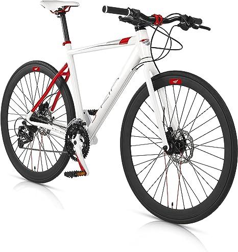 MBM Bicicleta Híbrida Skin Aluminio Freno de Disco hidráulico 28 ...