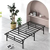 ZINUS SmartBase Compack Mattress Foundation / 14 Inch Metal Bed Frame / No Box Spring Needed / Sturdy Steel Slat Support…