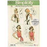 Vintage Simplicity 6354 Sewing Pattern Hip Hugger Pants 1970s Halter Top Pattern Bust 32.5 Short Shorts Pattern 1970s Vintage Sewing