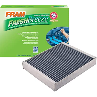 FRAM CF10775 Fresh Breeze Cabin Air Filter with Arm & Hammer: Automotive