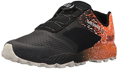 Merrell Mens ALLOUT Crush TOUGHMUDDER 2 BOA Sneaker, Tumble Orange, ...