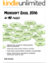 Microsoft Excel 2016 In 90 Pages