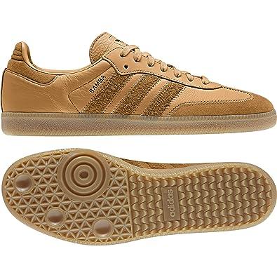 adidas Originals Samba OG FT Sneaker Herren Braun Sneaker