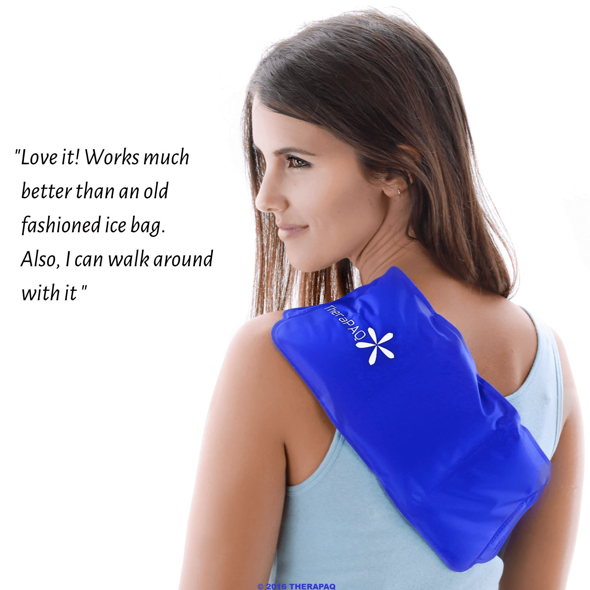 """Pain Relief Flexible Ice Pack for Injuries by TheraPAQ 