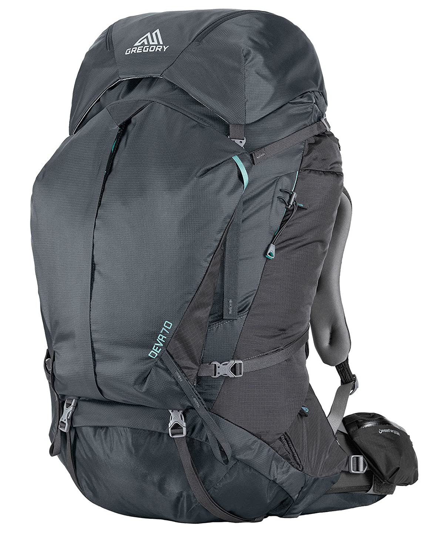 Gregory – Deva 70 m, Farbe Charcoal Grau