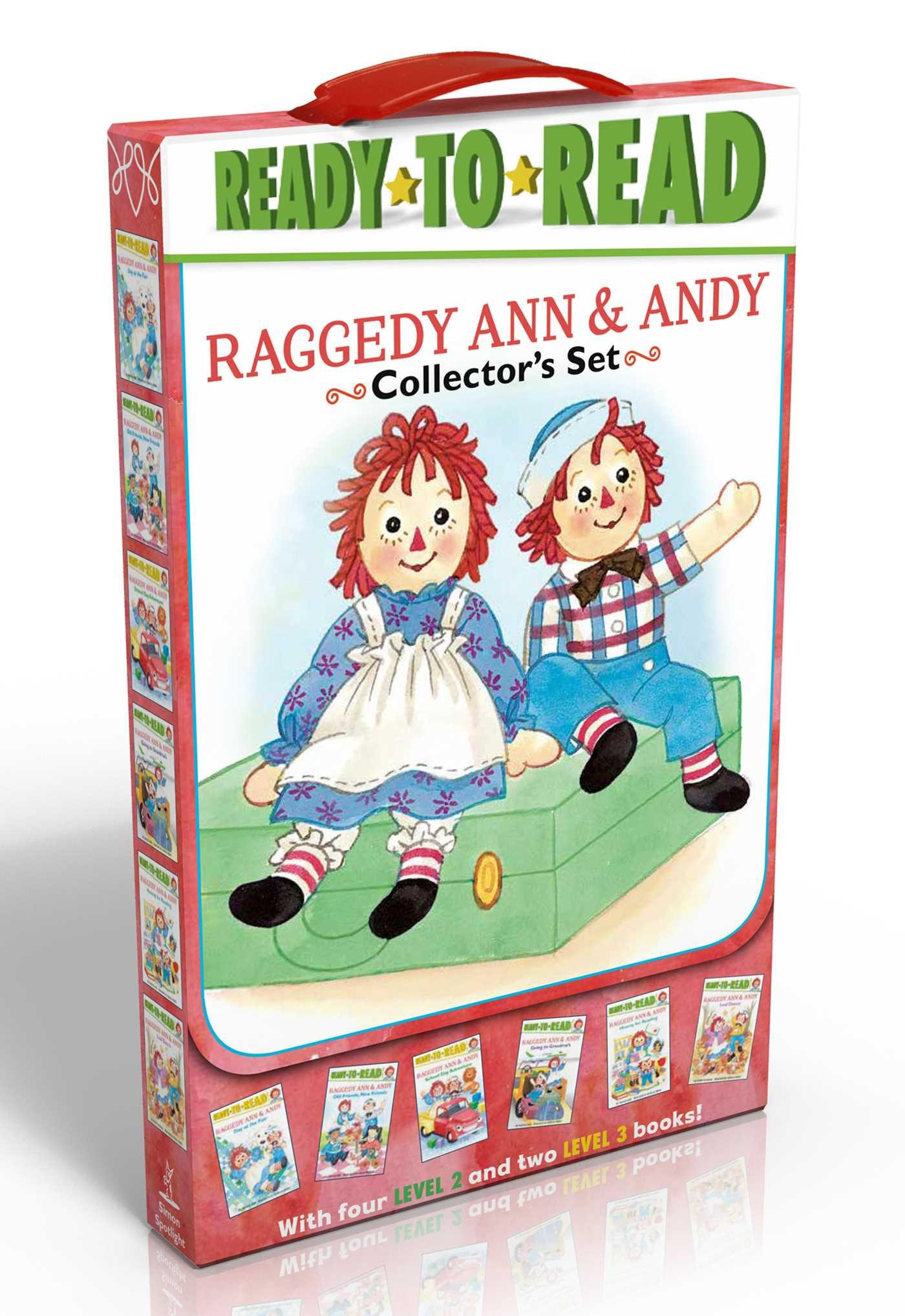 Raggedy Ann Dance - Raggedy Ann & Andy Collector's Set: School Day Adventure; Day at the Fair; Leaf Dance; Going to Grandma's; Hooray for Reading!; Old Friends, New Friends