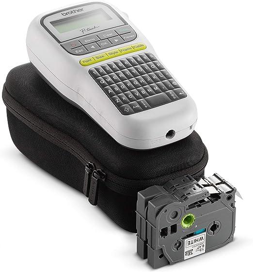 Hermitshell EVA Reisetasche f/ür Brother P-Touch PTH110 Easy Portable Label Maker