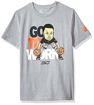Under Armour Sc30 Go To Work SS T Camiseta de Manga Corta, Niños: Amazon.es: Deportes y aire libre