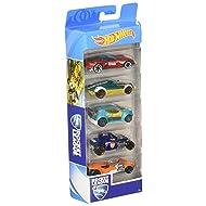 Hot Wheels 5 Car Gift Pack (Styles May Vary)