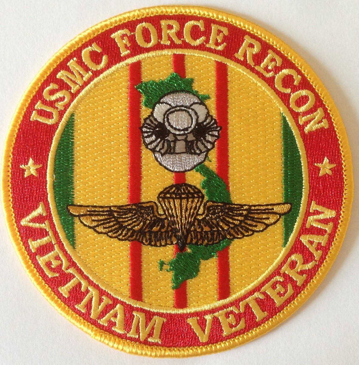 Daughter Of A Vietnam Veteran Patch USMC