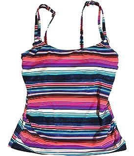 6edfb1bb3fdd6 Croft & Barrow Women's Swimwear Wired D-Cup Tankini Top, Floral ...