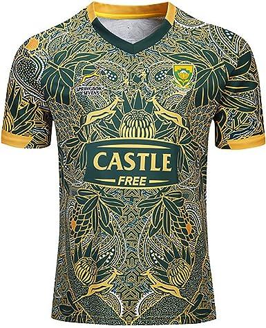 Mempire SudáFrica Rugby Jersey Camisas De Rugby para Hombres Ropa Deportiva Regular Fit: Amazon.es: Ropa y accesorios