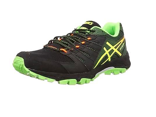 ASICS Gel-Fujiault 4 - Zapatillas de Running para Hombre, Color Verde, Talla 39.5 EU: Amazon.es: Zapatos y complementos