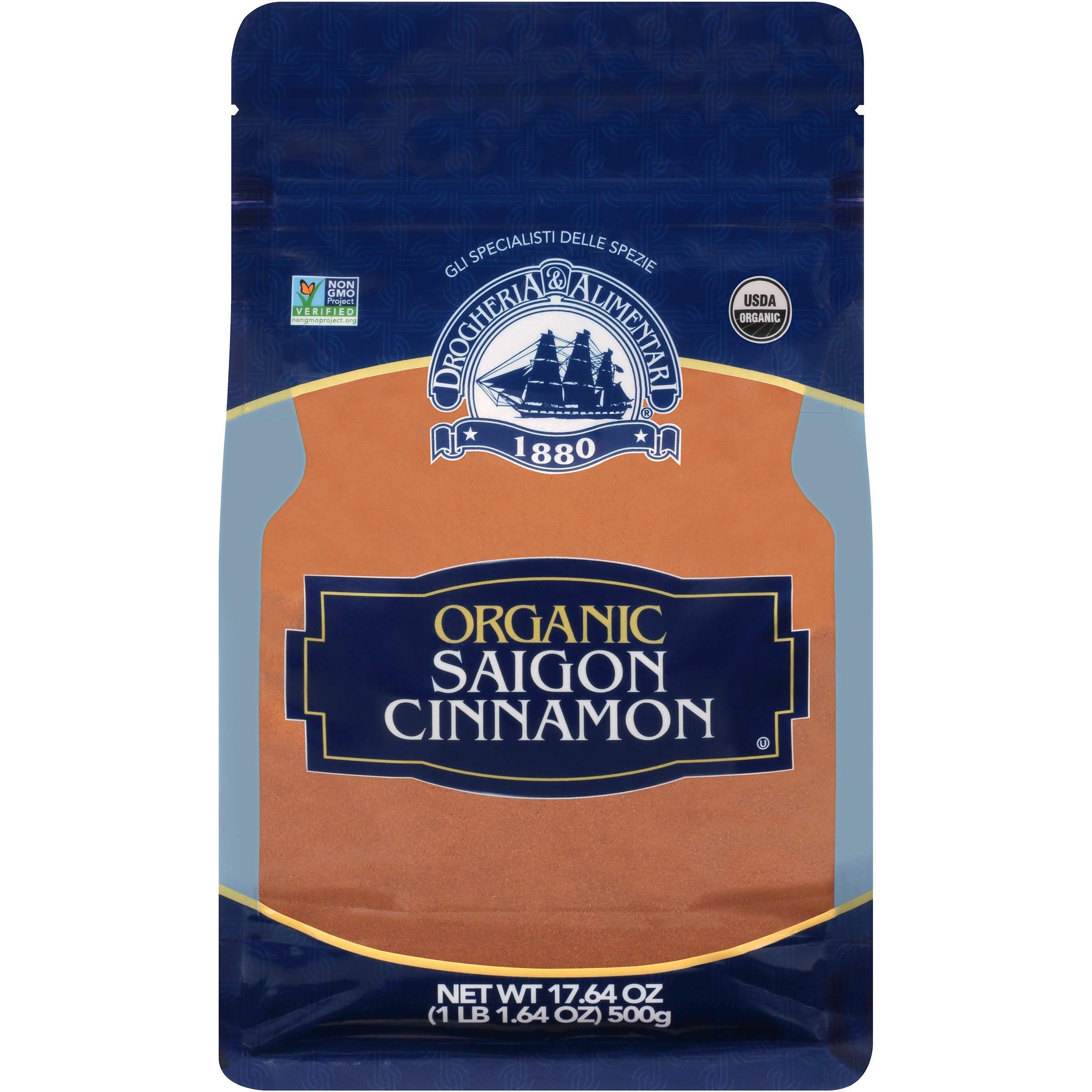Drogheria & Alimentari Organic Saigon Cinnamon, 17.64 oz