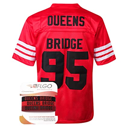 74447aff5d03 AFLGO Mobb Deep  95 Hennessy Prodigy Queens Bridge Shook Ones Jersey  Stitched Clothing Throwback