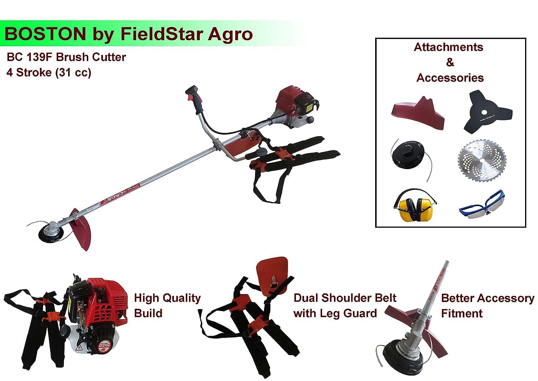 Boston Brush Cutter 4 STROKE ( Heavy duty + Attachments ) CG431