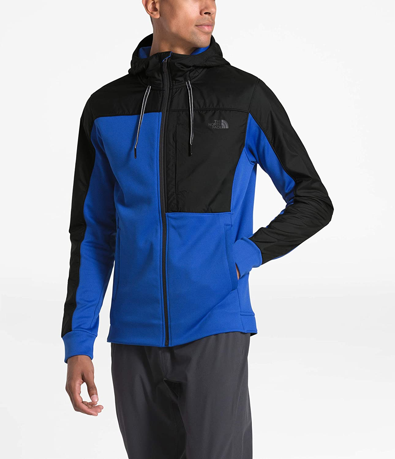 The North Face Mens Essential Fleece Fz Hoodie