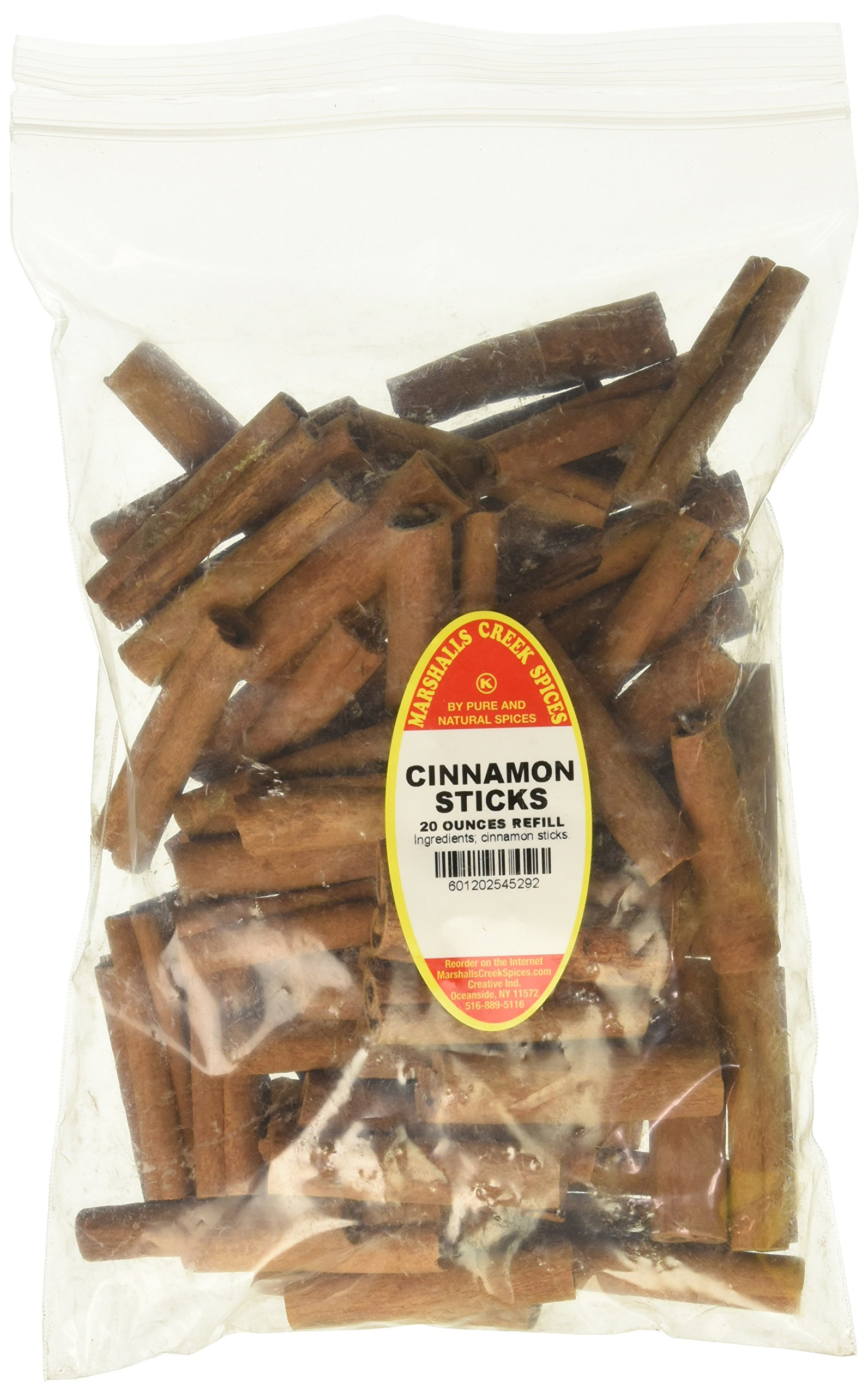 Marshalls Creek Spices Family Size Kosher Cinnamon Sticks Refill, 20 Ounce