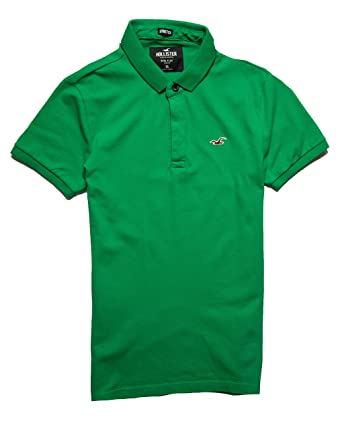 Hollister Mens Navy Polo Shirt Size Medium Casual Button-down Shirts Clothing, Shoes & Accessories