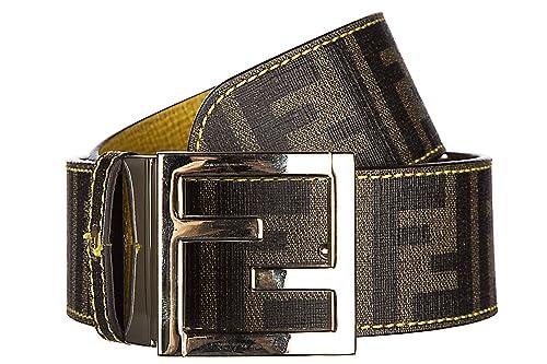 free shipping b5417 6c2ac Fendi cintura donna accorciabile reversibile nuova zucca ...