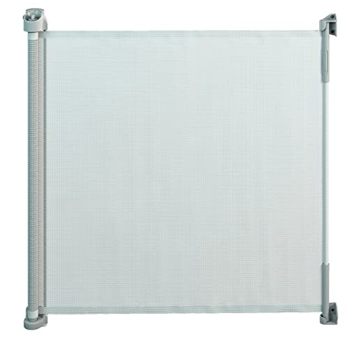 Gaterol Active Lite White - Retractable Safety Gate