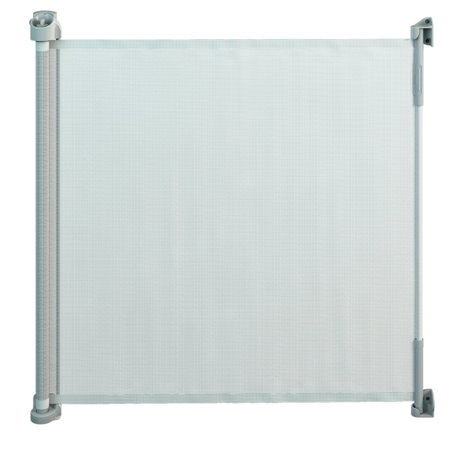 Gaterol Active Lite White - Retractable Safety Gate - Super Safe 36.6'' Tall and Opens up to 55''