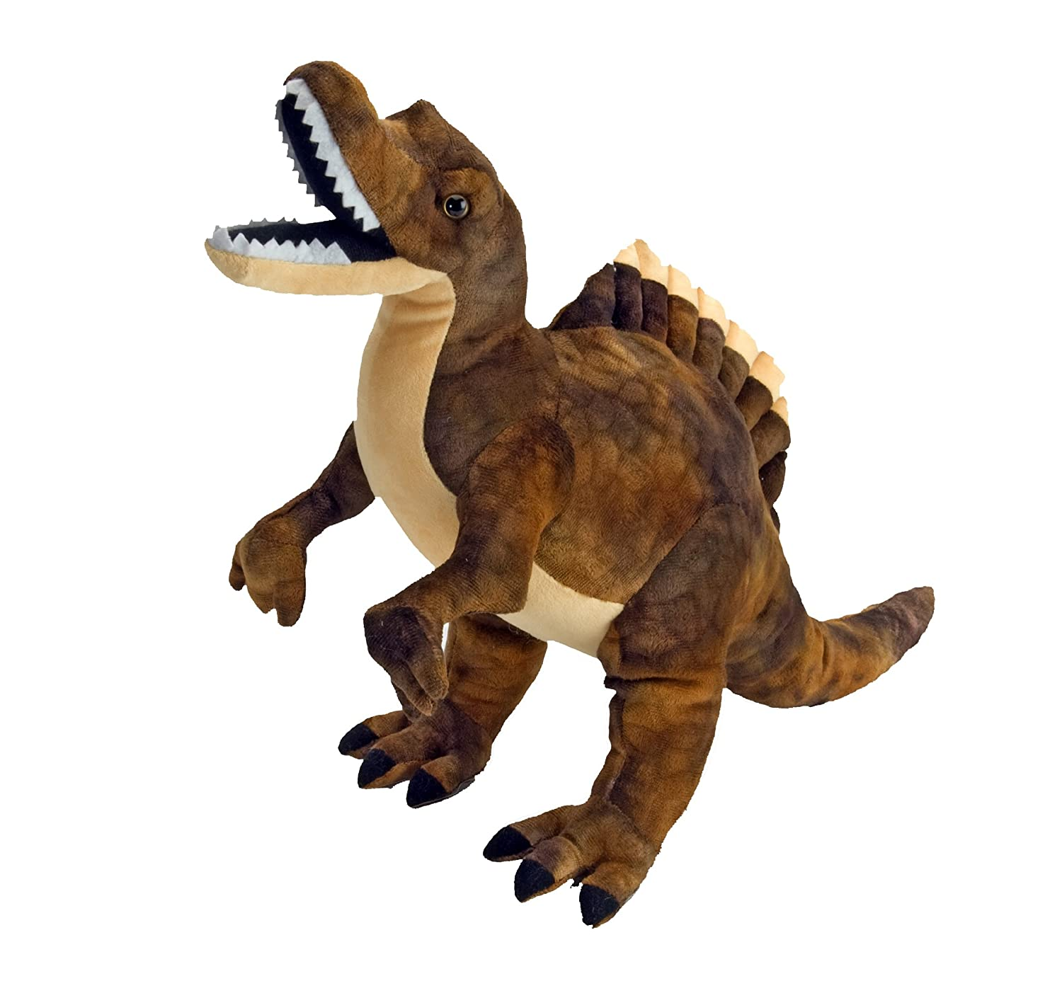 Amazon.com: Wild Republic Spinosaurus Plush, Dinosaur Stuffed Animal, Plush Toy, Gifts for Kids, Dinosauria 15 Inches: Toys & Games