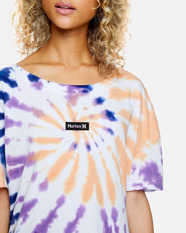 Camiseta Mujer Hurley W OAO Tie Dye Flouncy tee