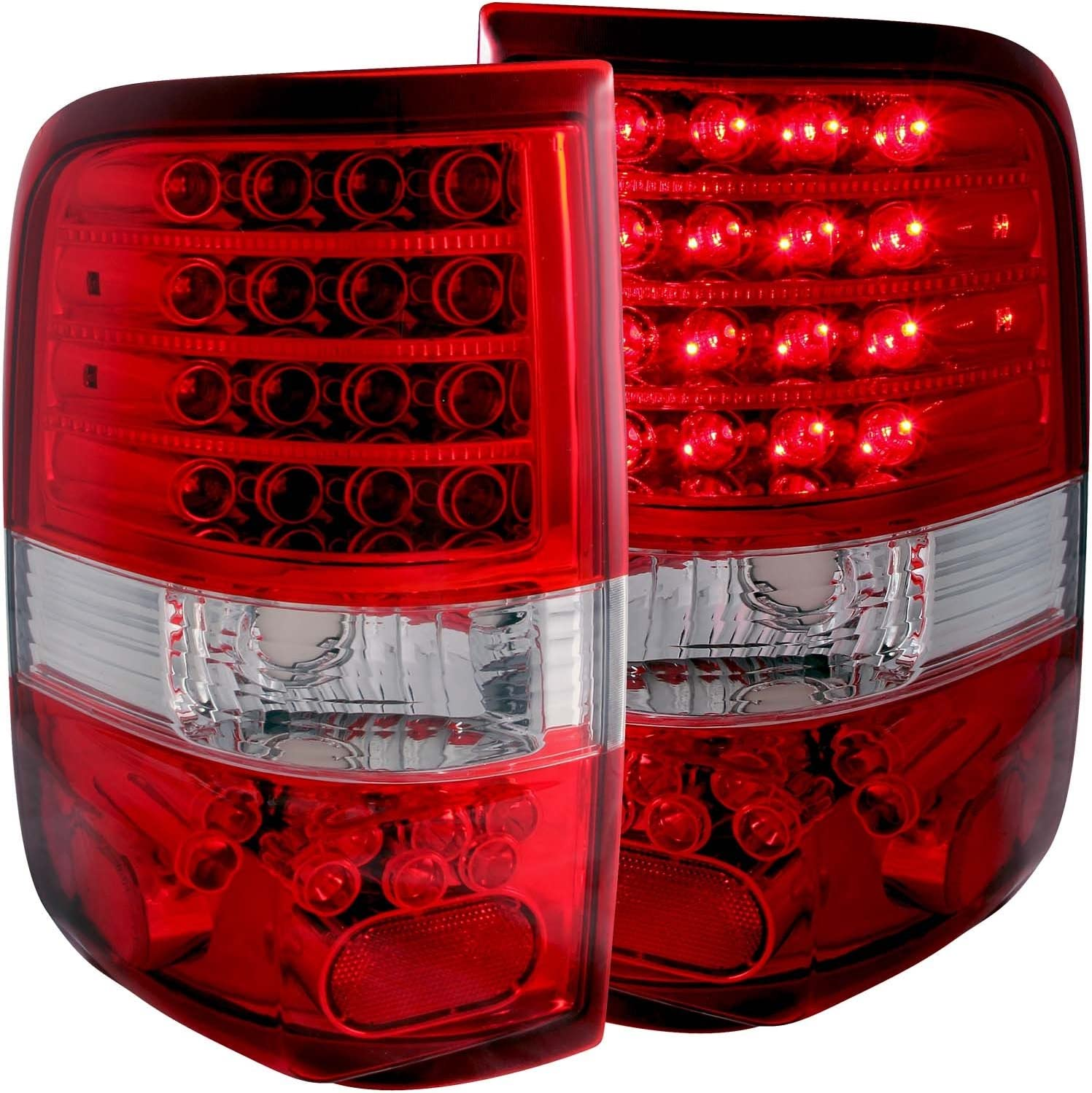 Anzo USA Sold in Pairs AnzoUSA 321212 Black LED Taillight for Mazda Miata